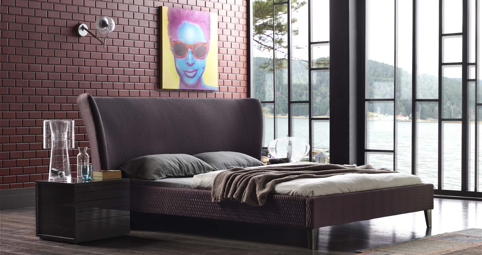 Milano Bedroom Furniture Moon Headboard Radiator Cover And Wall Panel